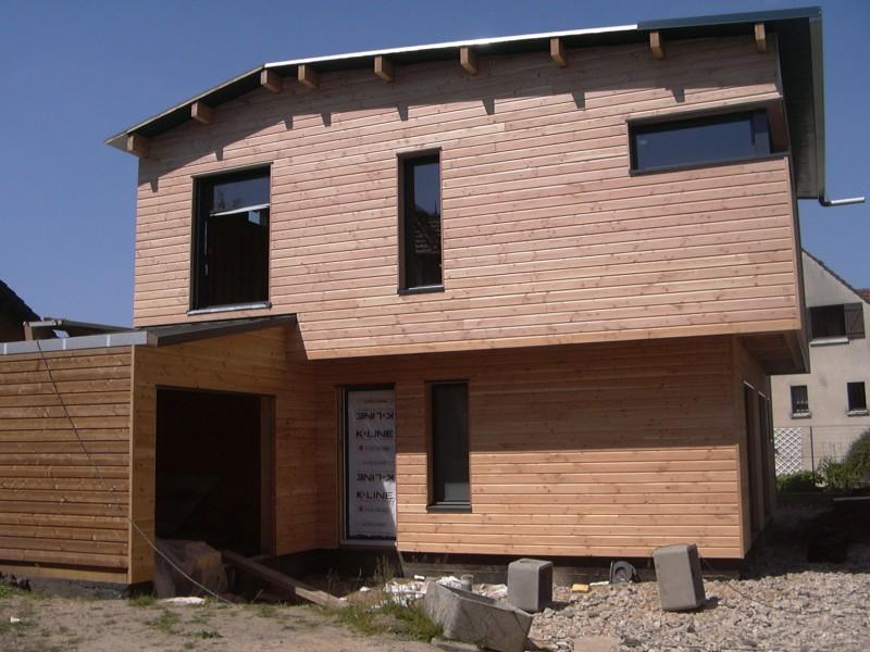 Bureau d 39 tudes structure bois for Construction d une maison individuelle